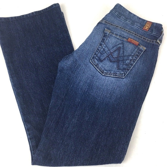 7 for all Mankind Denim - 7 For All Mankind Women's A Pocket Jeans 28 x 29